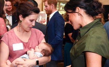 Las primeras fotos de Meghan Markle tras anunciar su embarazo