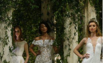 Romántica y sensual la nueva colección  de trajes de novia