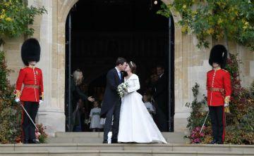 La boda de la princesa Eugenie en imágenes