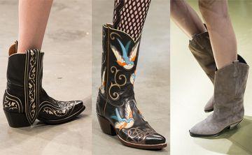 Las botas vaqueras están de regreso