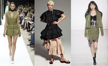 Faldas en tendencia: de los volados a las líneas rectas