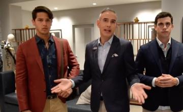 Un experto recomienda varios looks masculinos para el trabajo