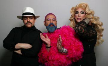 Espectacular transformación de tres diseñadores que decidieron borrar los límites del género