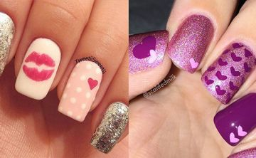 Valentine's nails: ponle amor a tus uñas