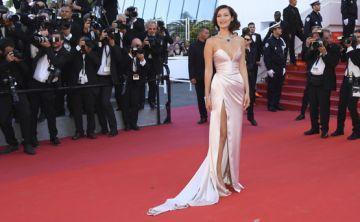 La candente moda en Cannes