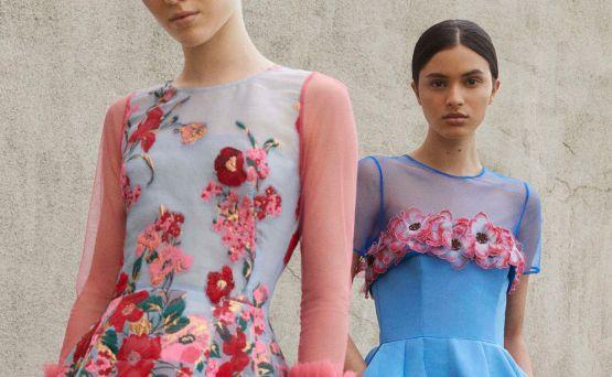 Las flores de Carolina Herrera