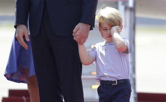 Las expresiones más adorables del príncipe George