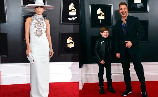 JLo, Ricky Martin y Bebe Rexha, entre los más elegantes de la alfombra roja de los Grammy