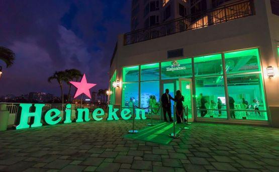 """Presentan en un ambiente premium la nueva tecnología """"Blade"""" de la cerveza Heineken"""