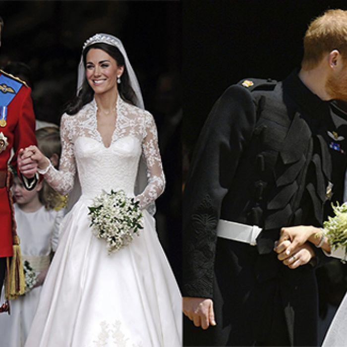 Las diferencias entre la boda de Kate y Meghan