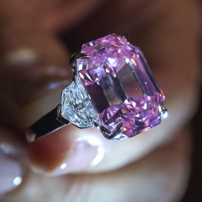 Este es uno de los diamantes más raros del mundo y sale a subasta