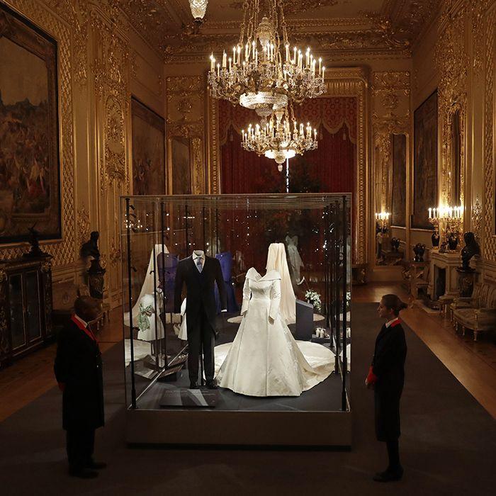 Exhiben el vestido de boda de la princesa Eugenie