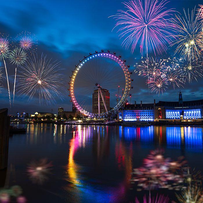 Así recibirá el famoso London Eye al bebé de Meghan y Harry