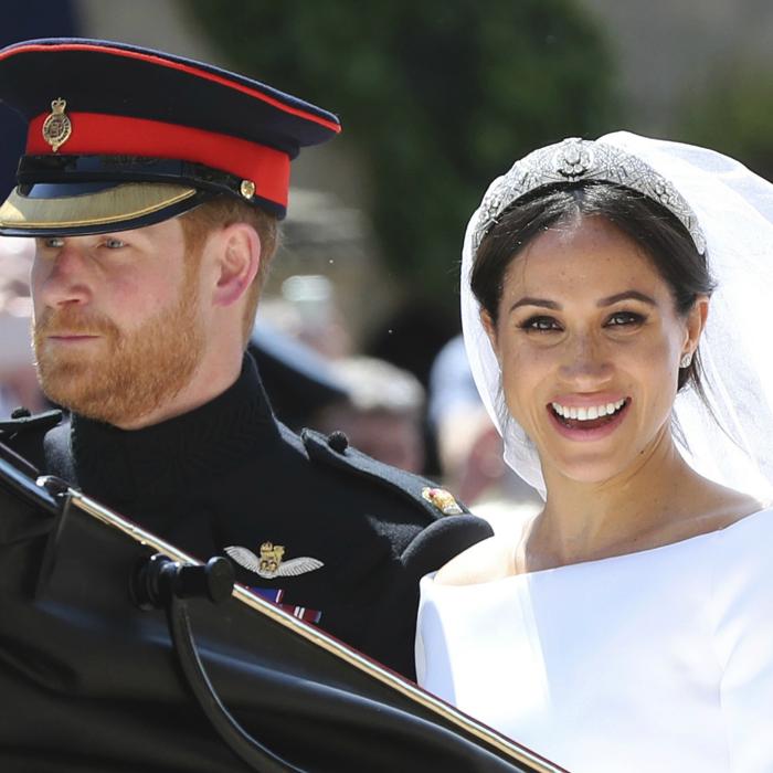 Harry y Meghan comparten fotos inéditas de su boda