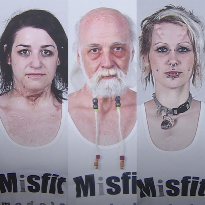 """Misfit models: la agencia que busca modelos """"imperfectos"""