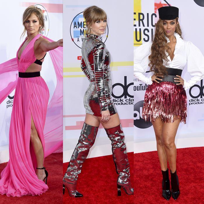 Los looks más llamativos de las estrellas de los American Music Awards