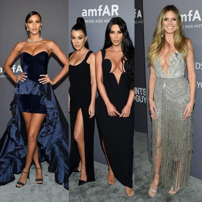 La gala de amfAR puso a flor de piel la seducción de las celebridades