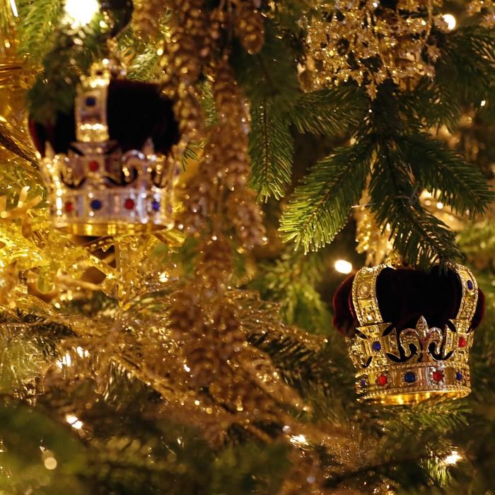 Esta es la espectacular decoración de Navidad creada por la reina Elizabeth II