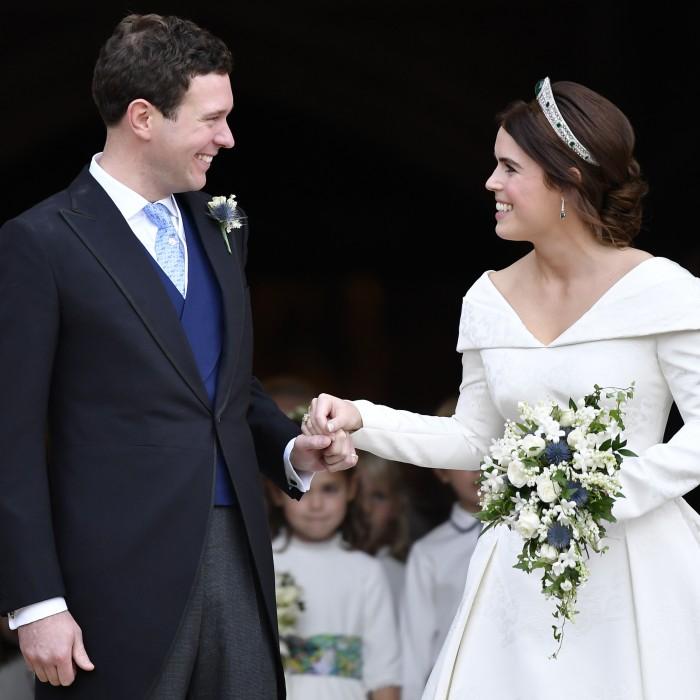 Zac Posen revela una foto inédita de la boda de la princesa Eugenie
