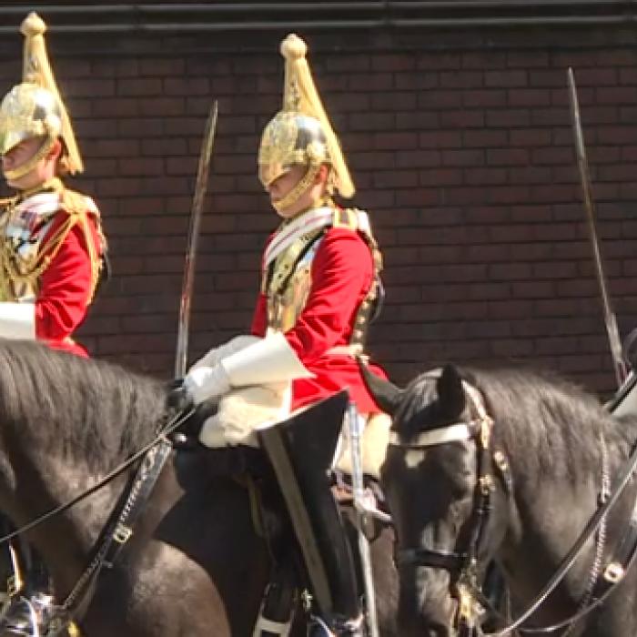 Caballería británica ultima detalles antes de la boda real