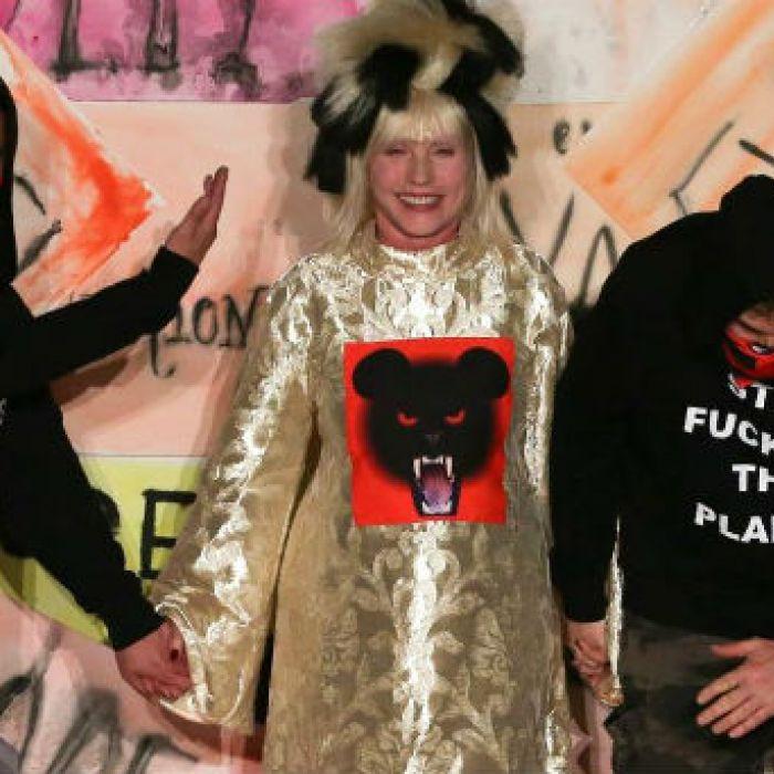Cantante de Blondie, un estandarte de la moda ecologista