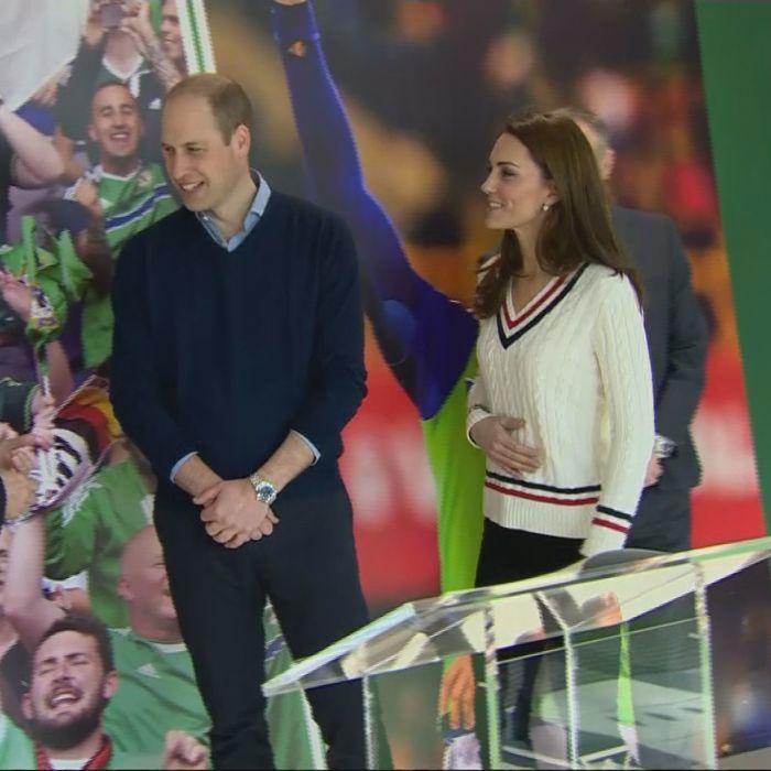 Los hijos de Kate y William ya tienen sus camisetas de fútbol oficiales