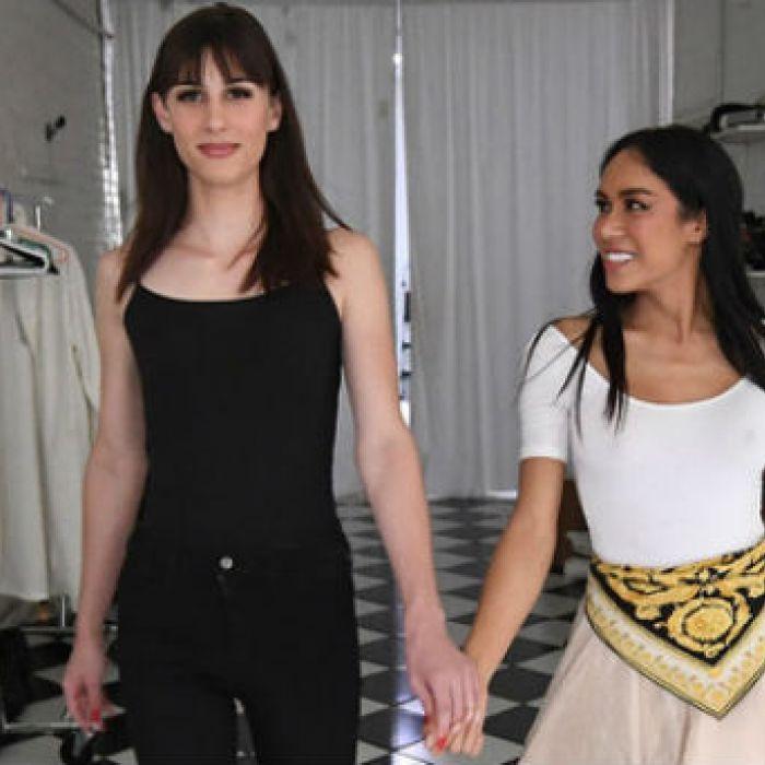Dusty y Peche, dos modelos transgénero frente a los prejuicios