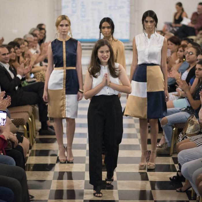 Estudiantes de moda de EDP University muestran su talento en la pasarela