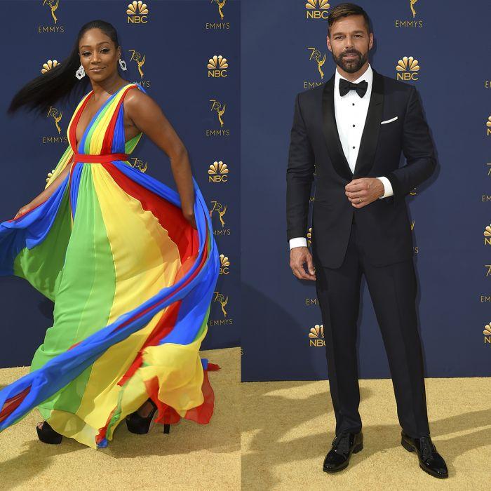 Los looks más llamativos de los Emmy Awards