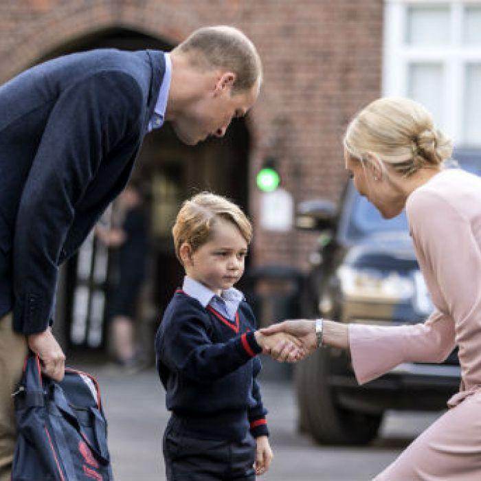 Primer día de escuela del príncipe George de Inglaterra