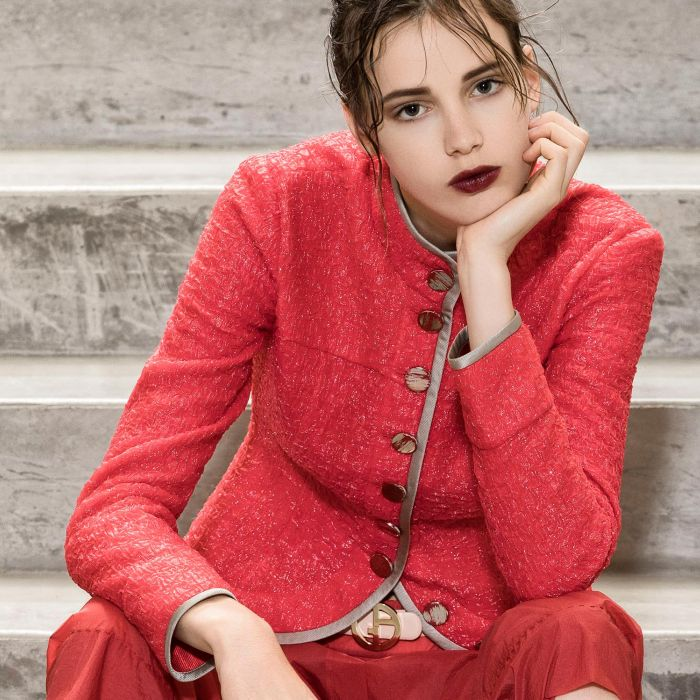 Los rojos de Giorgio Armani