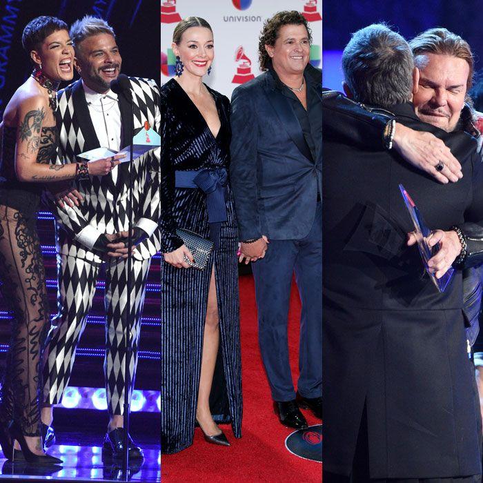 Las parejas que se lucieron en la noche de los Latin Grammy