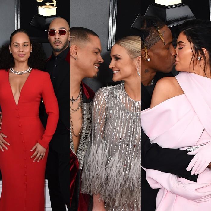 Las parejas de la noche en los premios Grammy 2019