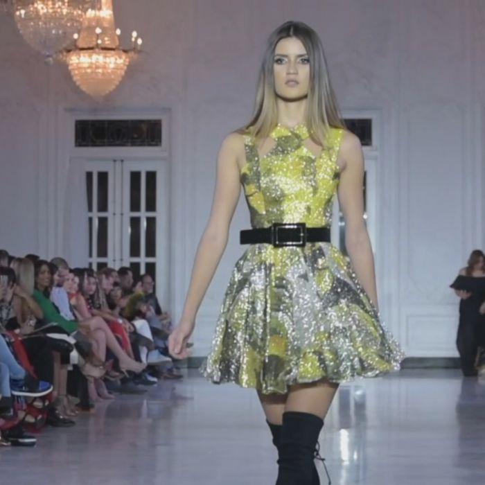 Nathalie Kriado presenta una colección llena de estampados, brillo, estilo y mucho color