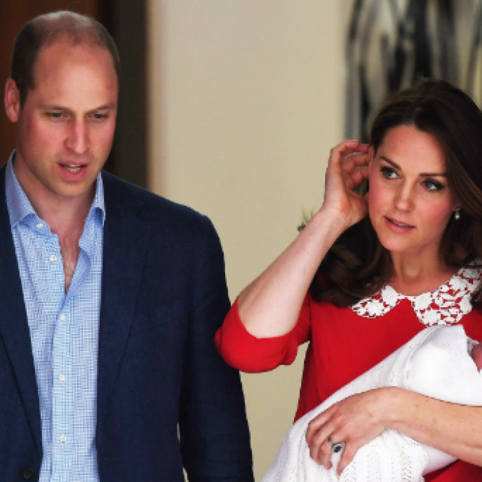 Nace tercer hijo del príncipe William y Kate Middleton