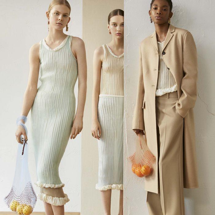 Knit dress: los tejidos se lucen en esta prenda