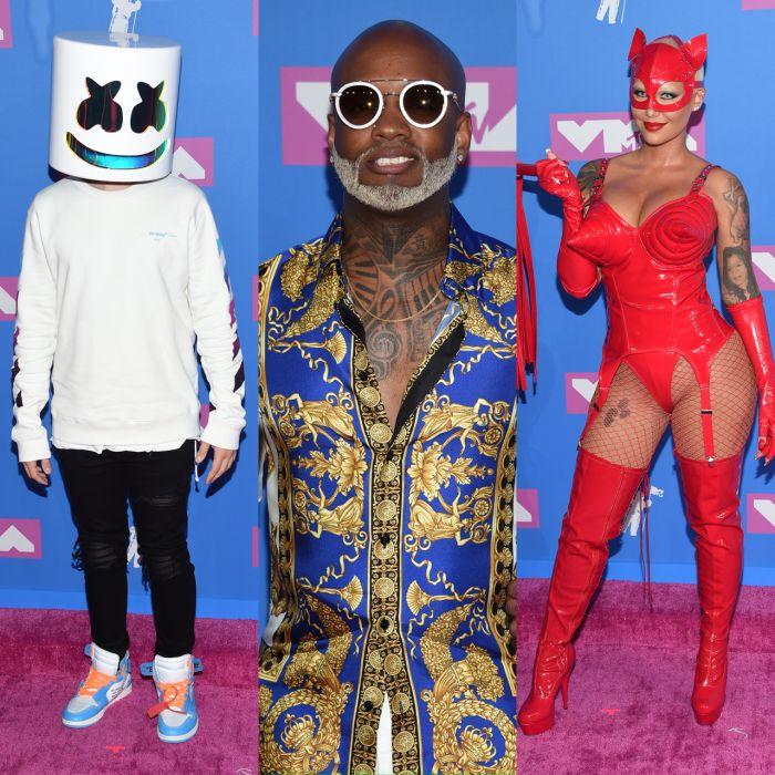 Los looks más llamativos de la alfombra roja de los MTV Video Music Awards 2018