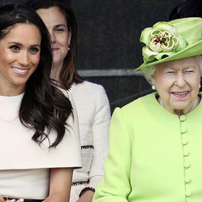 El lenguaje corporal revela cómo es la relación de Meghan y la reina