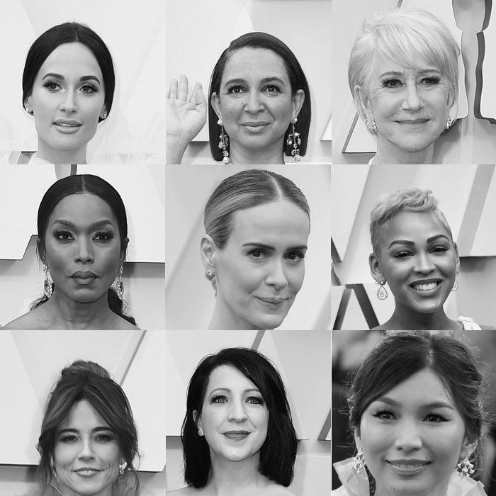 Estas celebridades eligieron todas el mismo tono para la alfombra roja de los Oscars