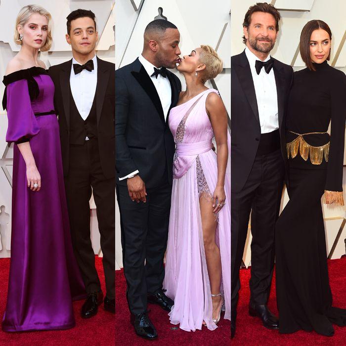 Estas son las parejas que llenaron de carisma la alfombra roja de los Oscars 2019