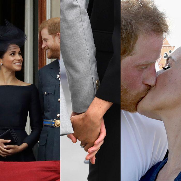 Los momentos más románticos de Harry y Meghan a 3 meses de su boda