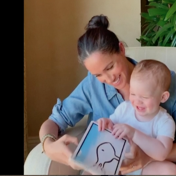 Adorable momento de Meghan Markle en el primer cumpleaños de su bebé Archie