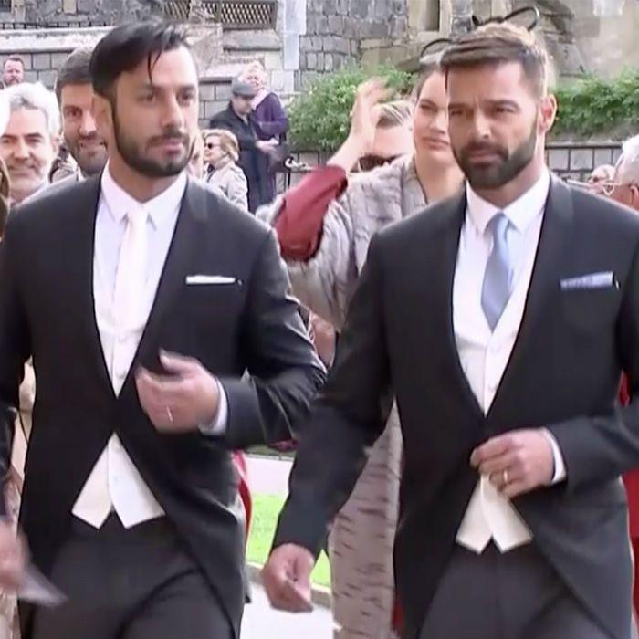 Ricky Martin entre los invitados a la boda de la princesa Eugenie