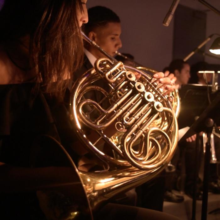 Estudiantes de la Escuela Libre de Música emocionados con su participación en San Juan Moda 2018