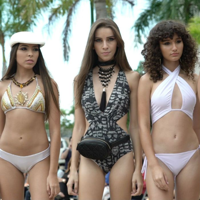 Tarde de trajes de baño en San Juan Moda 2018