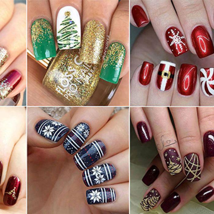 Art Nail: la Navidad también llega a las uñas