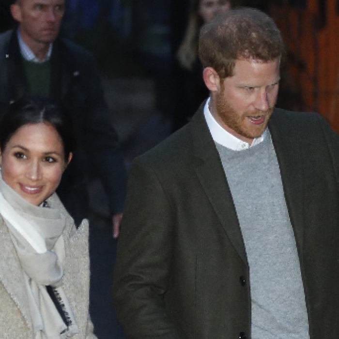 Segundo compromiso oficial de Meghan Markle y el príncipe Harry