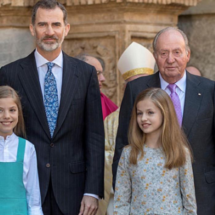Amargo encuentro en la realeza española