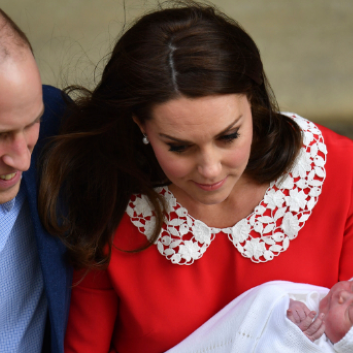 Kate y William llaman a su tercer hijo Louis Arthur Charles