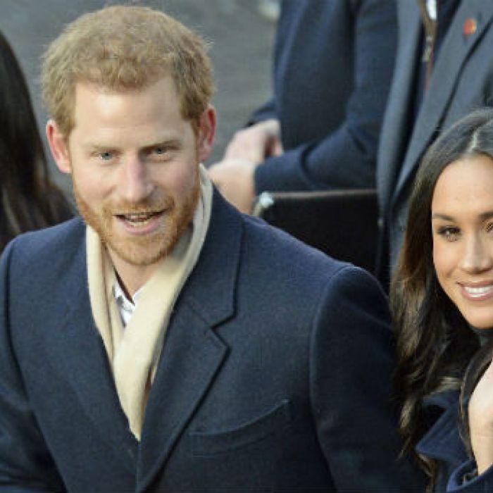 El príncipe Harry y Meghan Markle acudieron a su primer compromiso oficial juntos
